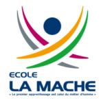 """Logo de l'école """"La Mache"""""""